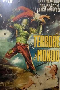 JOHN SHERWOOD IL TERRORE SUL MONDO Movie Poster