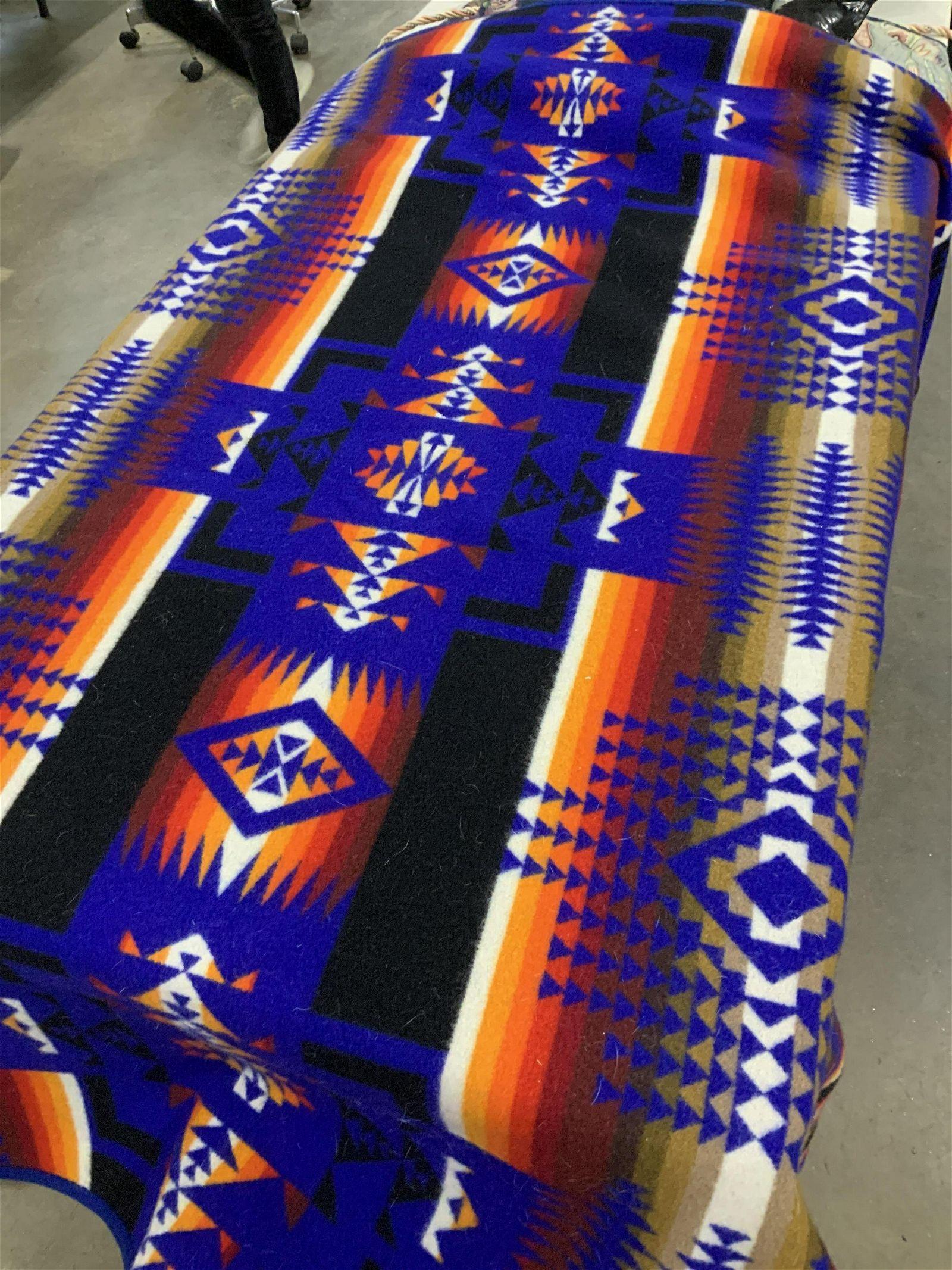 Southwestern Indian Wool Blanket, Vintage