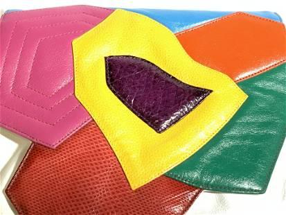 SHARIF Ladies Pleather Shoulder Bag, Vintage