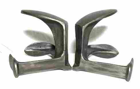 RESTORATION HARDWARE Cast Iron Cobblers Anvils