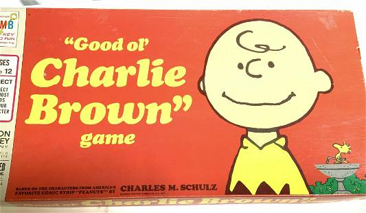 Milton Bradley Charlie Brown Board Game, Collect.