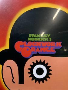 STANLEY KUBRICK'S Clockwork Orange Film Poster