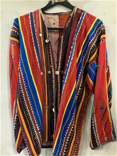 Grp 3 Men's Artisan. Cultural Cotton Shirts, Bag