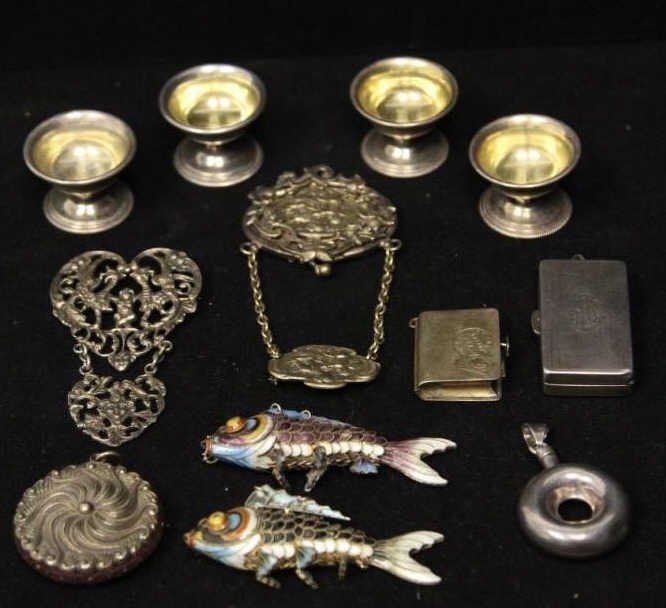 Antique & Vintage Silver Jewelry Articles