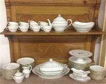 Vintage Richard Ginori Porcelain Dinner Service