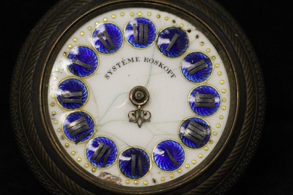 Antique Systeme Roskopf Pocket Watch - 3