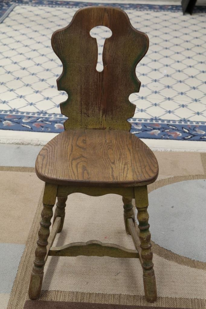 Antique Bavarian Pub Chair