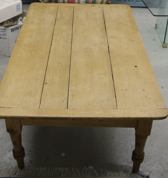 Wide Plank Country Pine Coffee Table