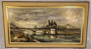 FRANK(WILL or PARIS) 1965 Oil on Canvas