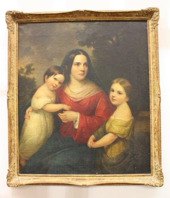 DANIEL HUNTINGTON oil on canvas , 1816-1906