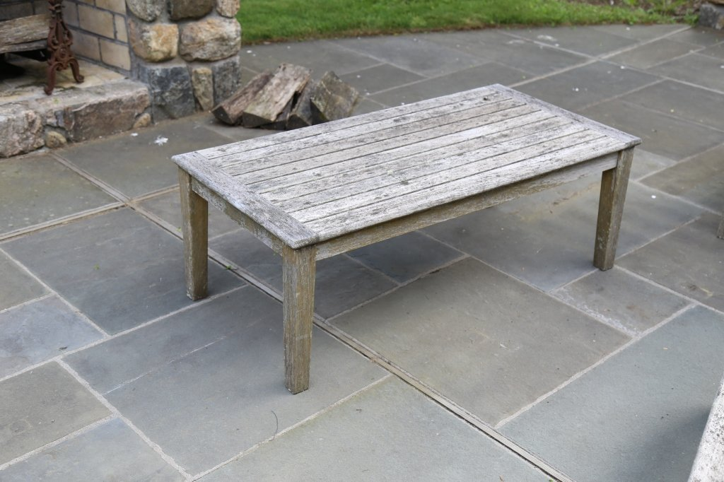 Outdoor teak coffee table gloster outdoor teak coffee table geotapseo Image collections