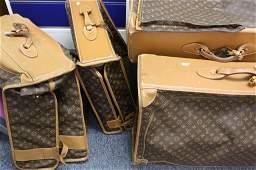 Set of Vintage LOUIS VUITTON Luggage