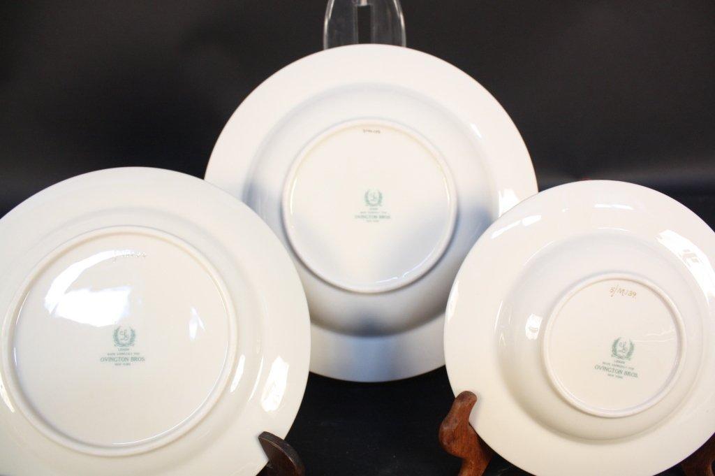 Gold rimmed Lenox china dinner set - 4