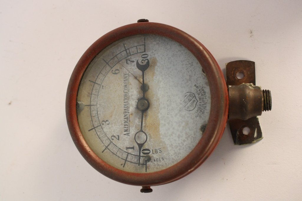 4 Antique Steam Gauges and Weather  Instruments - 7