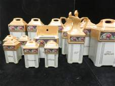 BOX LOT 11 Italian Kitchen Container Set