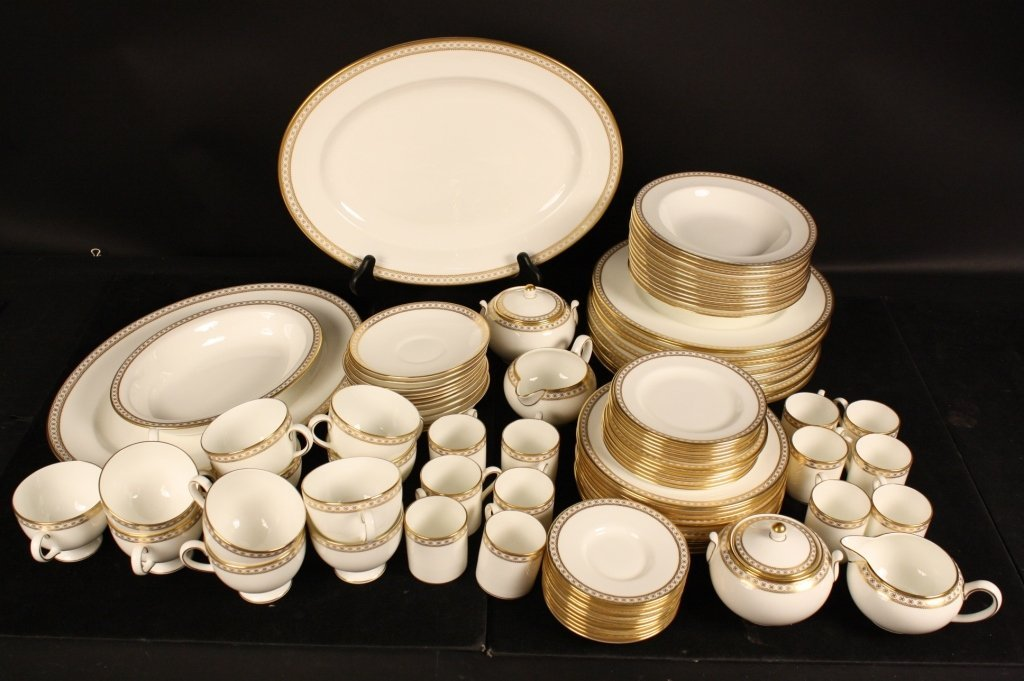 WEDGWOOD Vintage China Gold Ulander Pattern