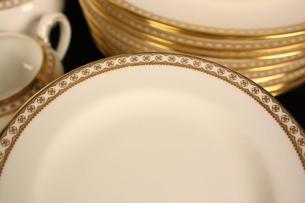 WEDGWOOD Vintage China Gold Ulander Pattern - 2