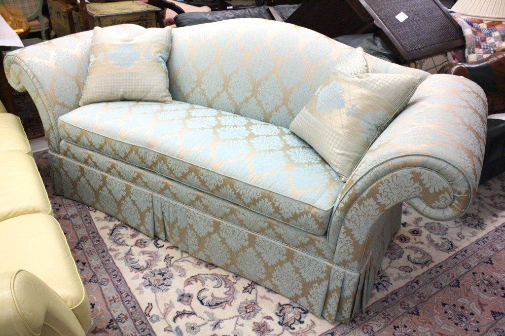 Custom-made Blue STICKLEY Sofa