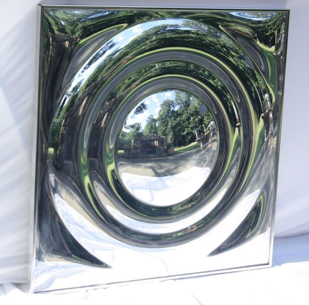 MidCentury Modern Aluminum Circular Wall Sculpture