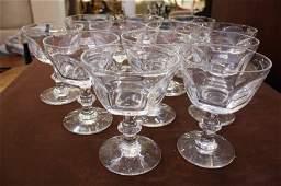 12 Crystal Lenox Stem Glasses or Bowls