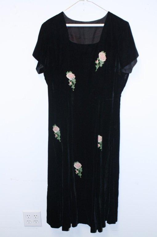 Group Lot of Vintage Black Dresses