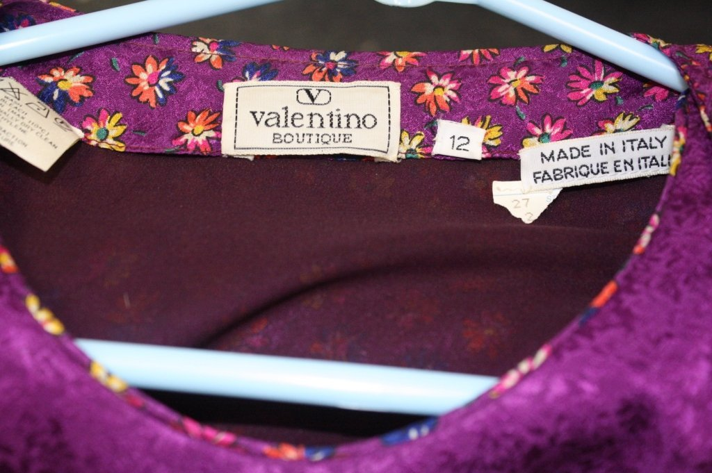 VALENTINO Lot of Two Vintage Dresses