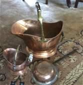 Group piece Antique Copper