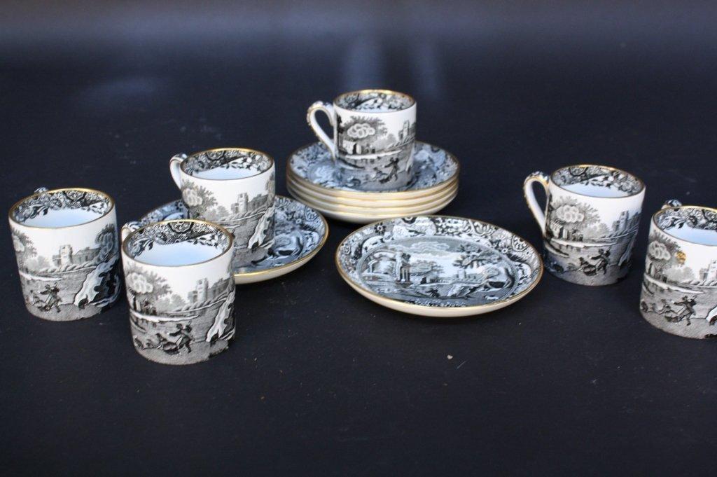 Vintage TIFFANY & CO. SPODE Demitasse Set