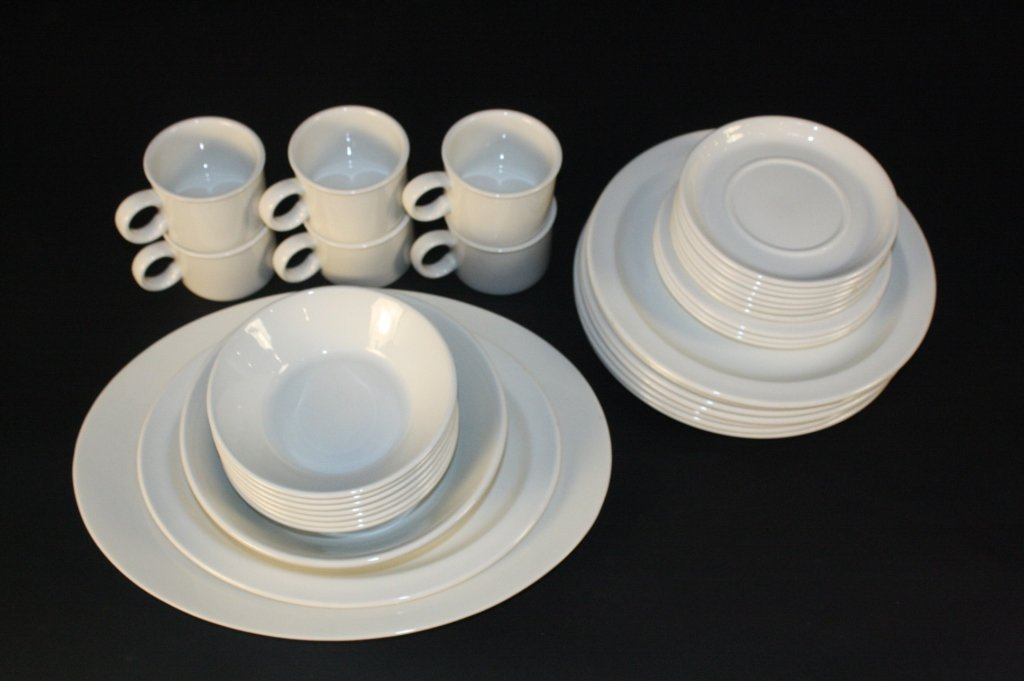 Set of Dishes Stamped ENGLAND