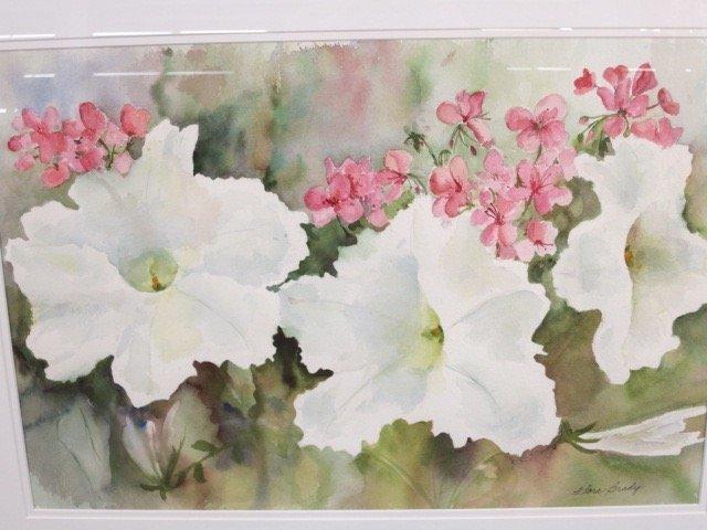 Vintage Floral Watercolor by FLORA BRADLY