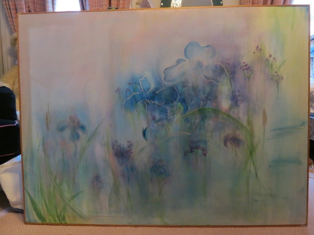 Contemporary Modern Abstract Oil on Canvas Lillie