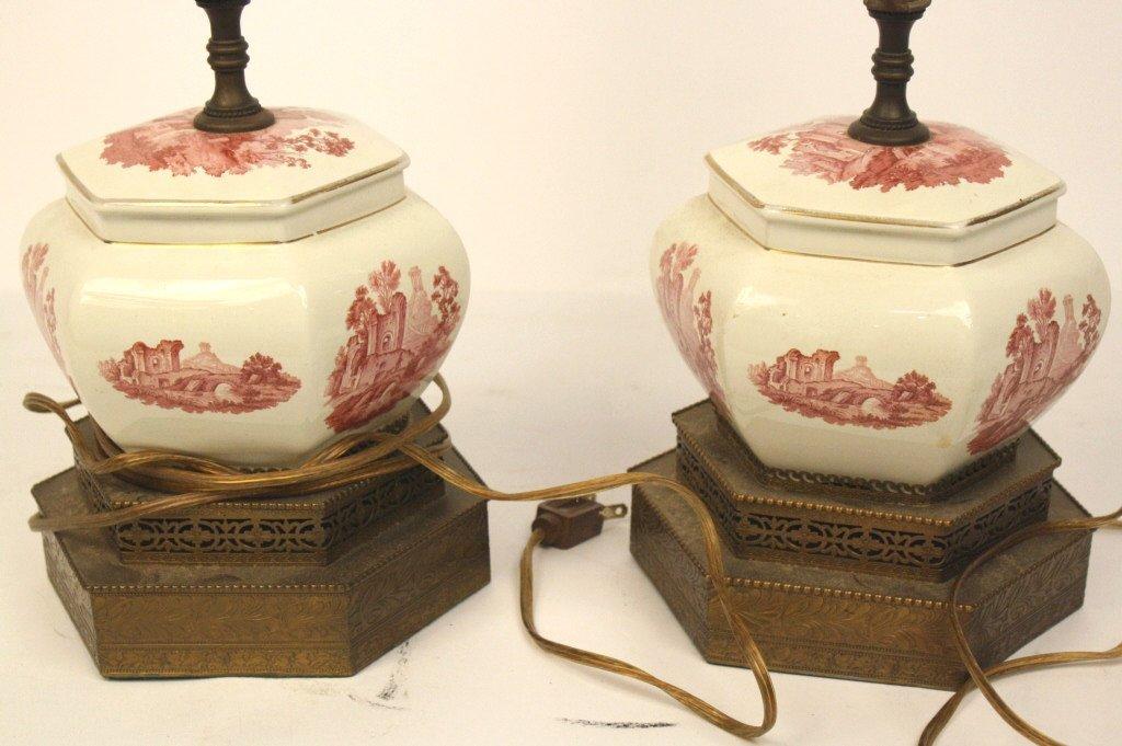 Pair Vintage Petite Table Lamps