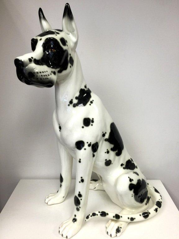 LLADRO DASIS Large Porcelain Great Dane