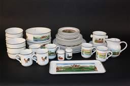 Set VILLEROY BOCH Design Naif 42 Pieces