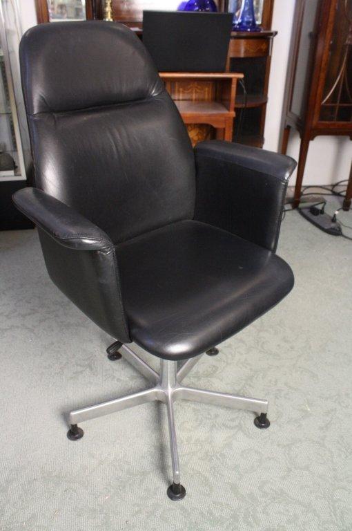 norwegian vintage office chair. Norwegian Vintage Office Chair LiveAuctioneers