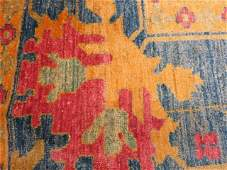 Brand New Pink, Rose and Blue Hand Made Carpet