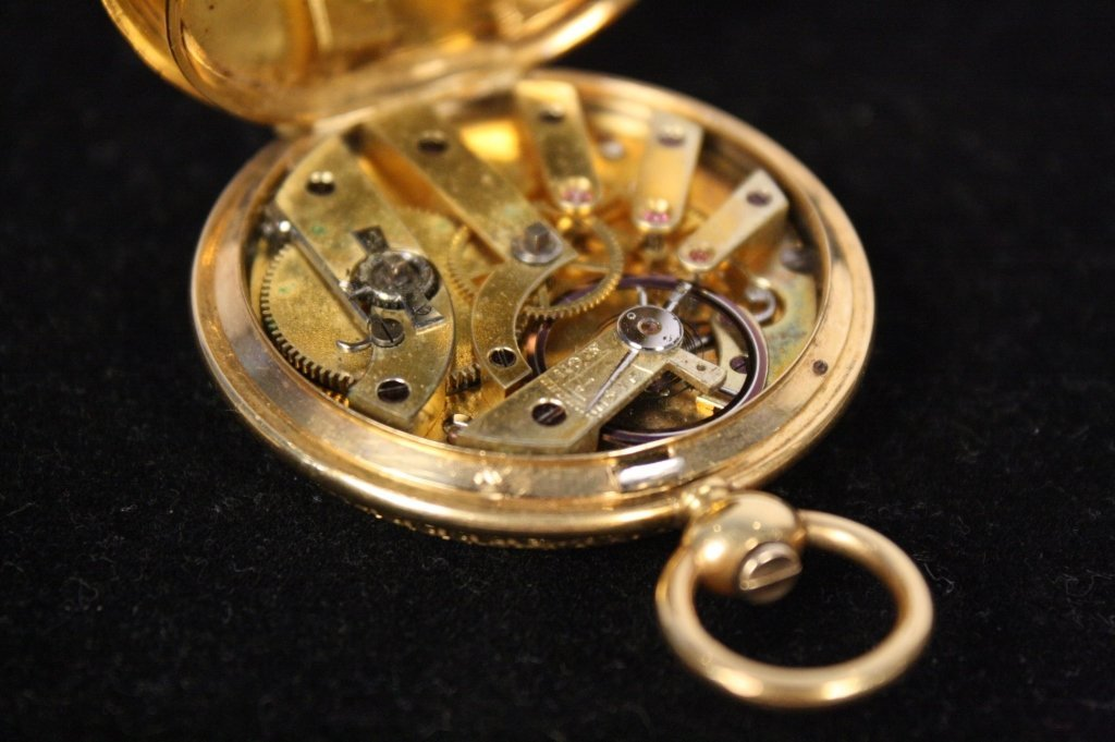 Antique BREITLING LAEDERICH Pocket watch with box - 10