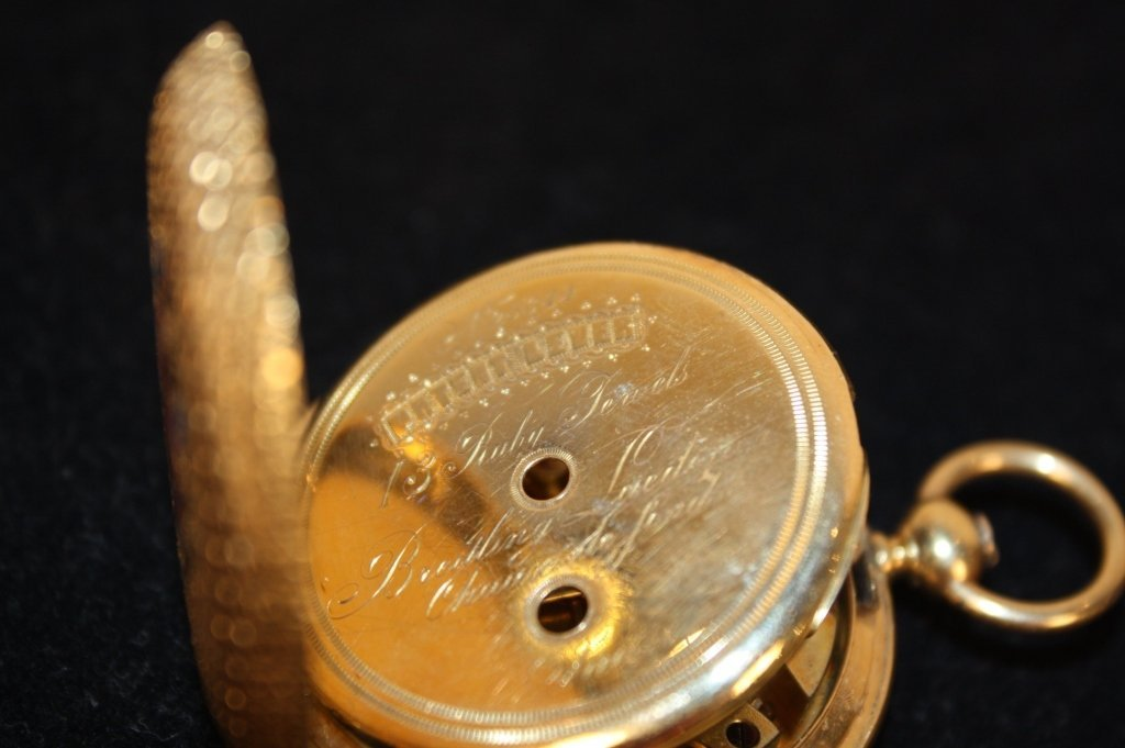 Antique BREITLING LAEDERICH Pocket watch with box - 8