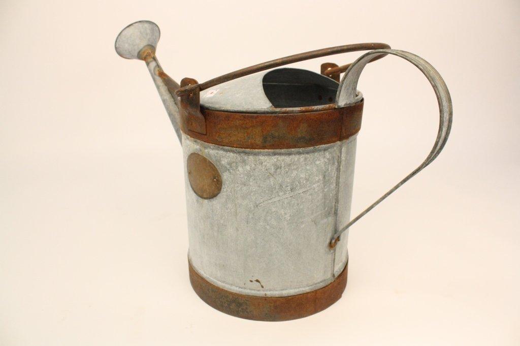 Vintage Steel and Iron Water Bucket