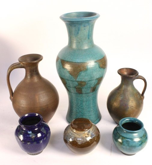 RICHARD FOYE Ceramic set of 6 Works