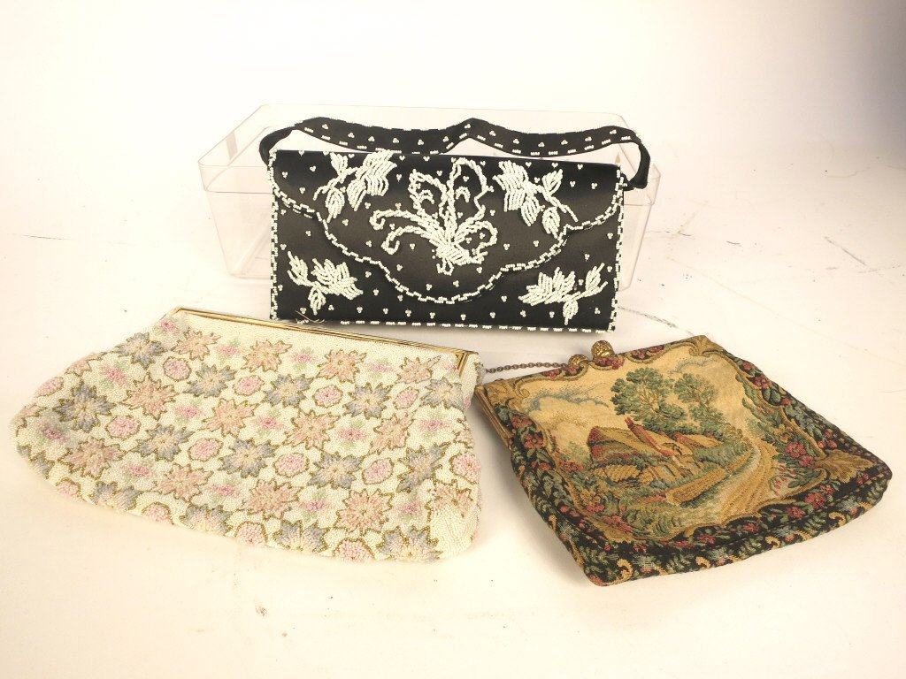 Group Lot of Vintage Evening Bags