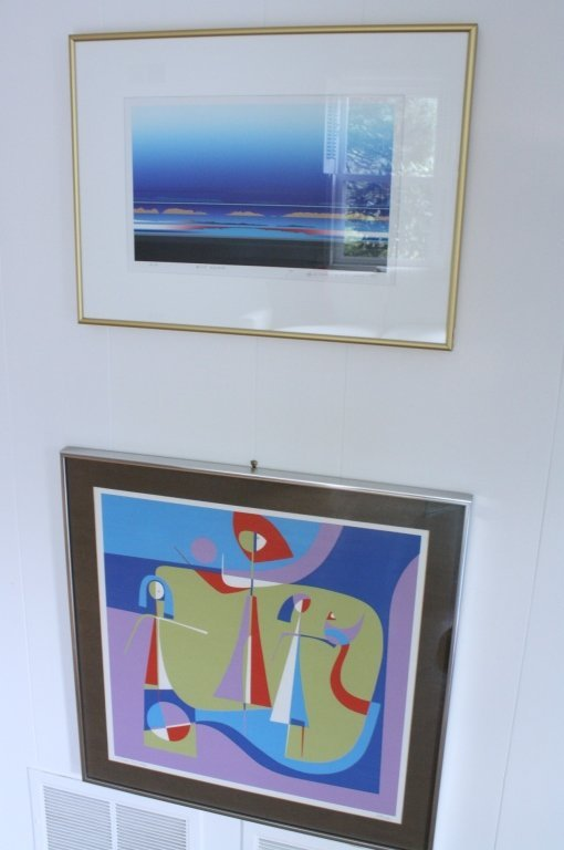 Set of Signed and Numbered Lithograph and A.P.
