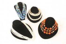 5 Vintage Necklaces