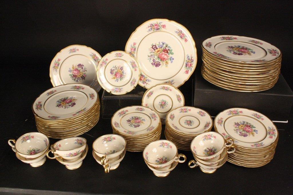 CASTLETON ROSE CHINA Set 70 Pieces