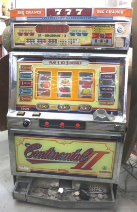 Vintage Working Slot Machine