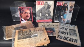 Historical Events News Paper And Magazines