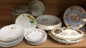 Mixed Lot Of Porcelain Dishes