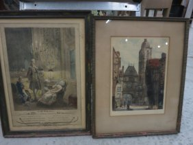 Pair Of Antique Prints