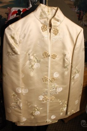 Vintage Custom Silk Hong Kong Suit