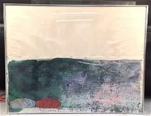 JOHN WALKER Artist Proof Contemporary abstract